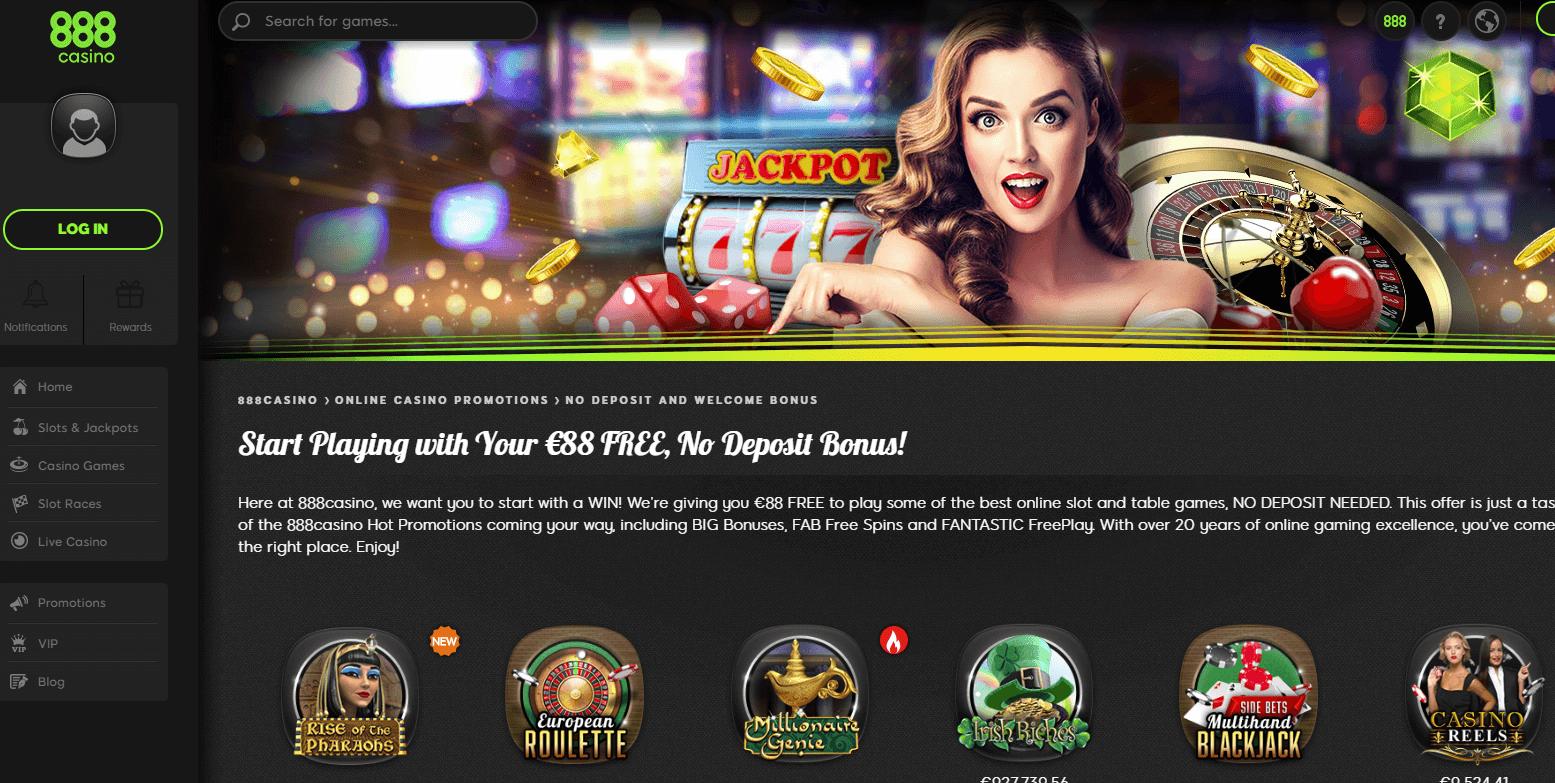888 Casino Freunde Werben