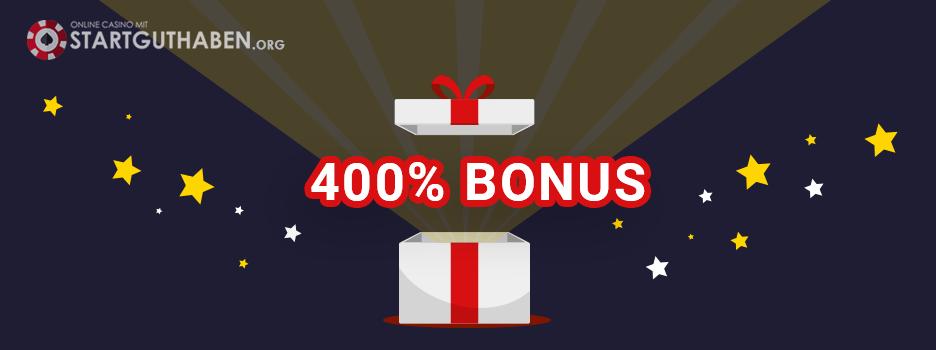400 Casino Bonus