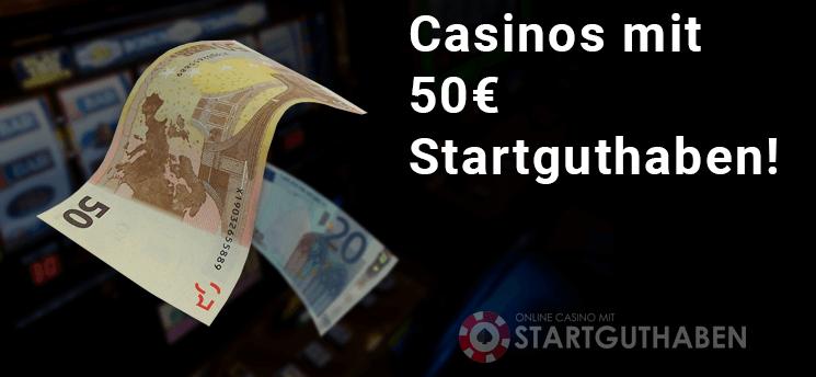 Casinos Mit Startguthaben Ohne Einzahlung