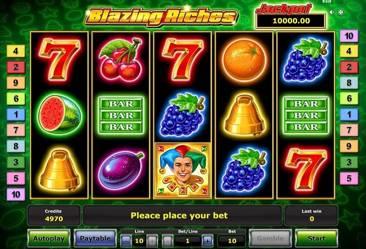 Spiele Blazing Riches - Video Slots Online