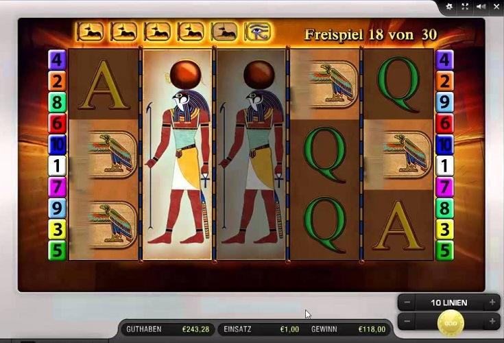 Eye Of Horus Online Spielen Kostenlos
