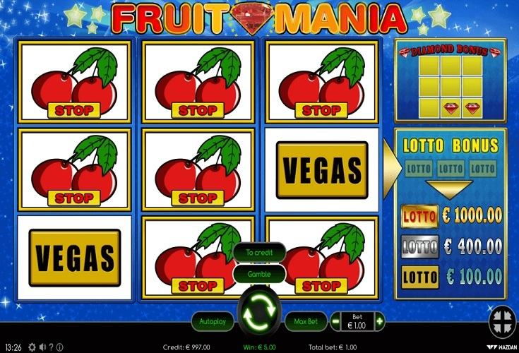 Spiele Fruit Mania RHFP - Video Slots Online