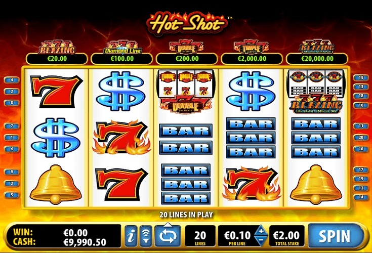 Slot Machine Hot Shot Kostenlos Spielen