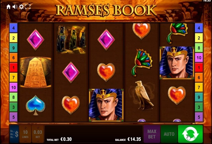 Spiele Ramses Book GDN - Video Slots Online