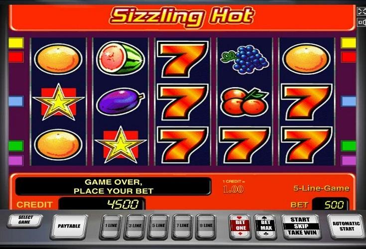 Sizzling Hot Online Spielen Kostenlos Ohne Anmeldung