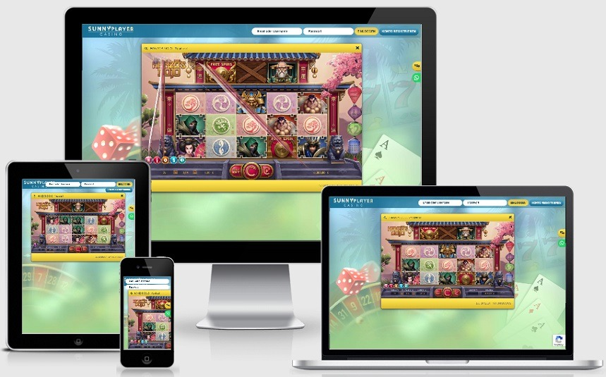 Sunnyplayer Casino - Mobile Spiele
