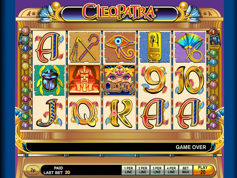 Cleopatra slots free online